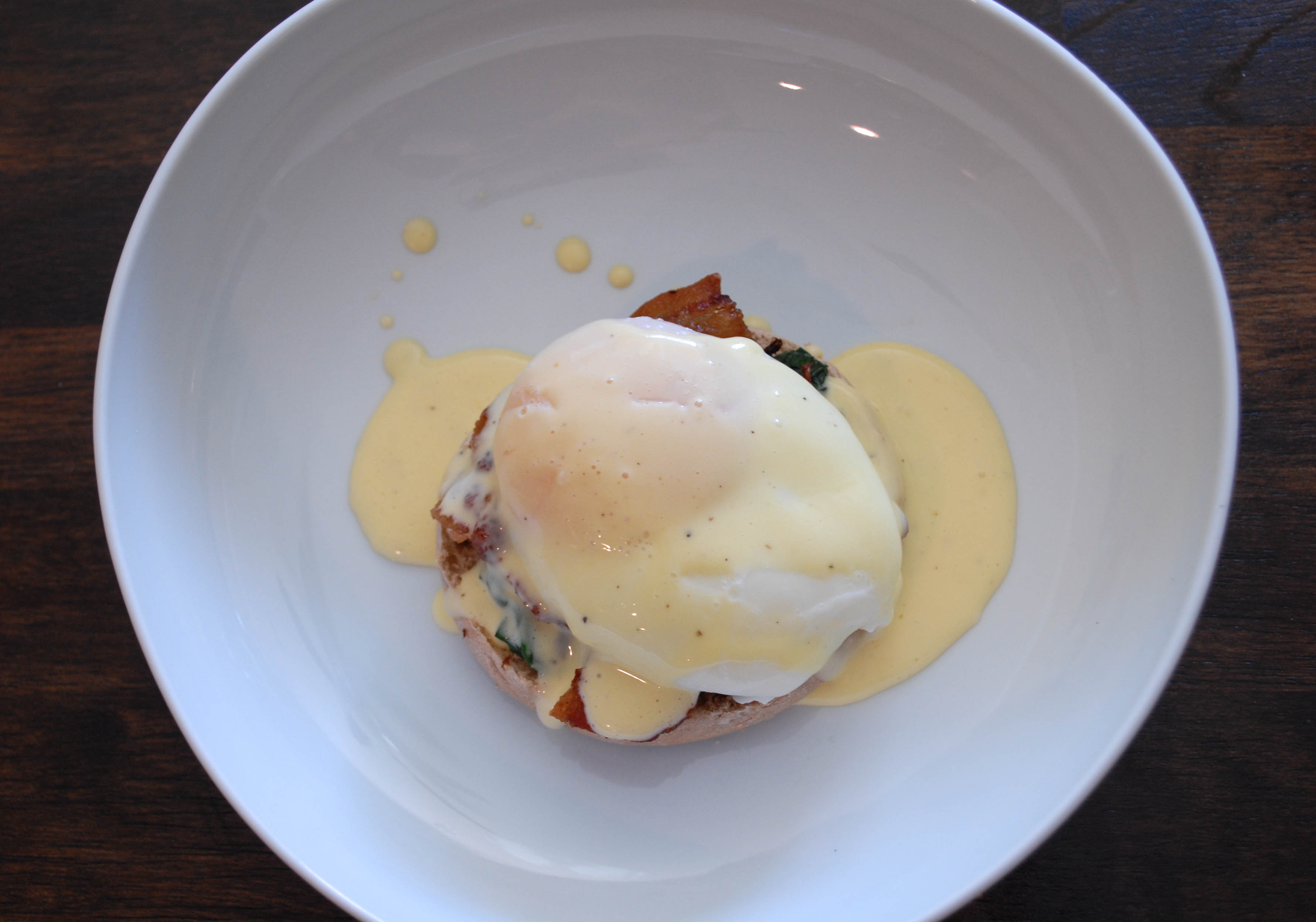 LEMONY EGGS FLORENTINE | From Scratch Stat