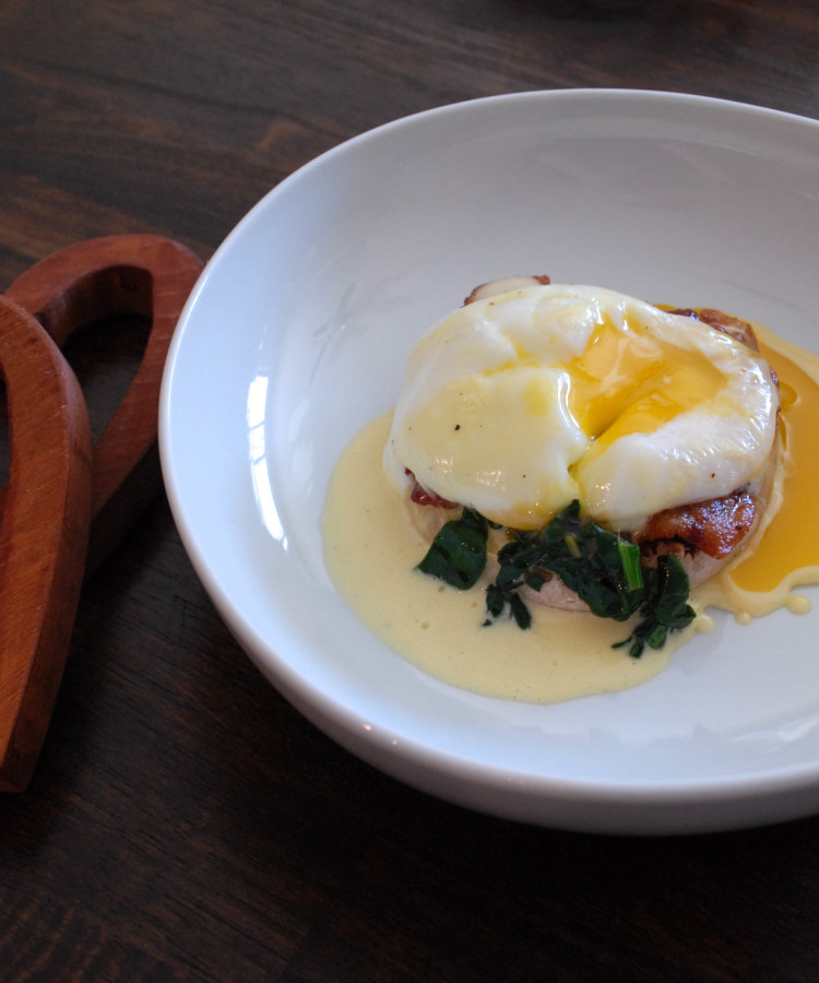 Lemony Eggs Florentine Recipes — Dishmaps