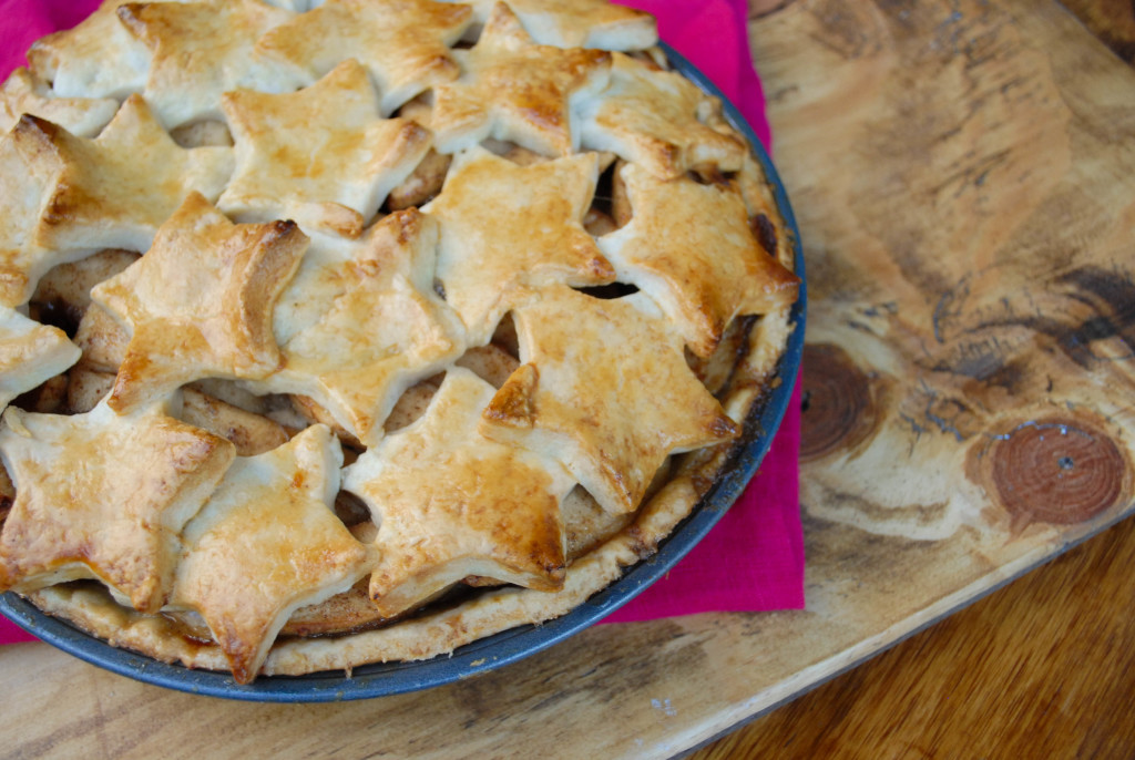 star-studded apple pie-from scratch stat