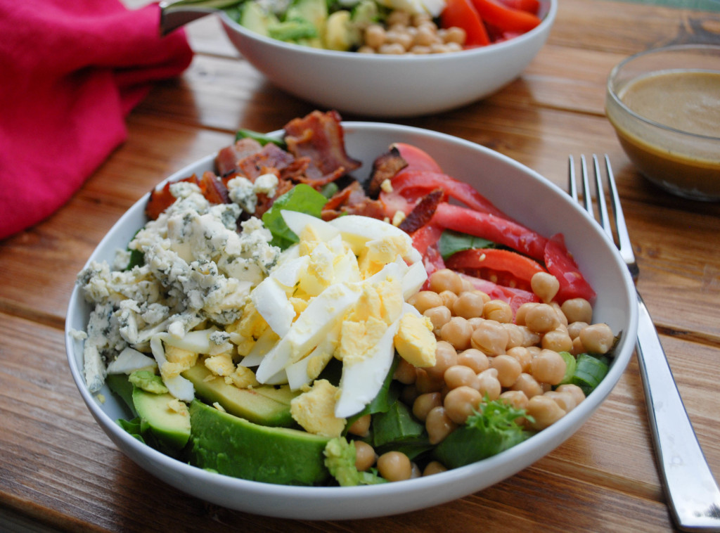Classic Cobb Salad- from scratch stat